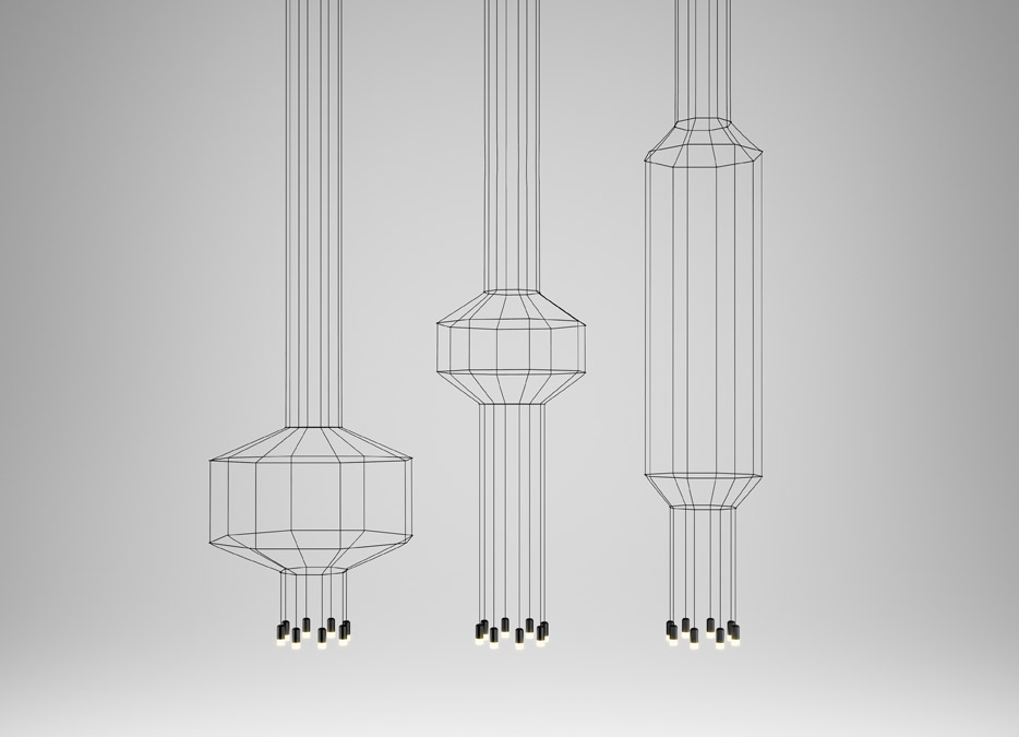 Wireflow Lamp, Vibia, 2013