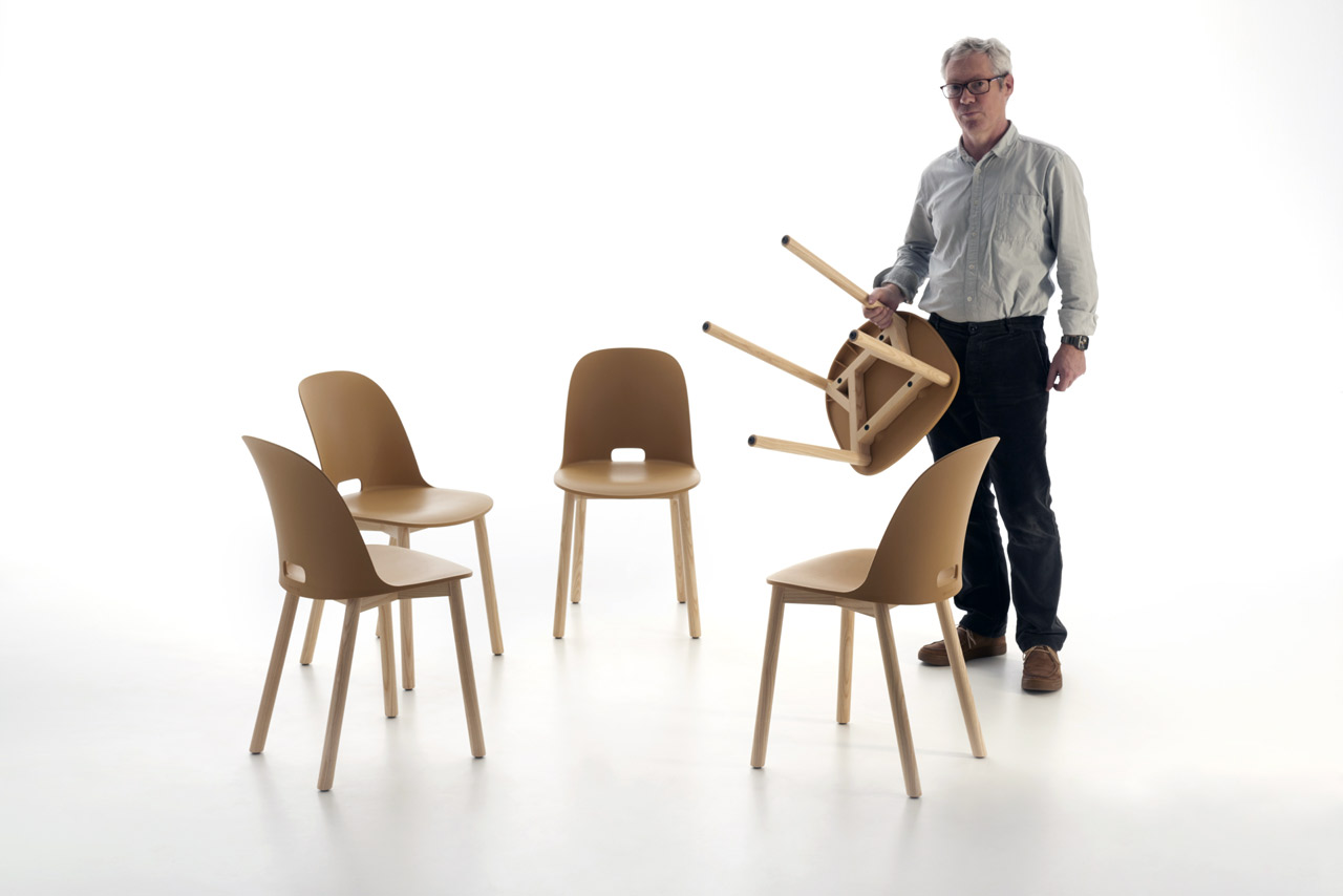 Alfie Chair, Emeco, 2015