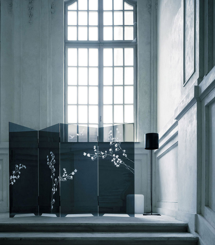 Haiku divider room glass italia