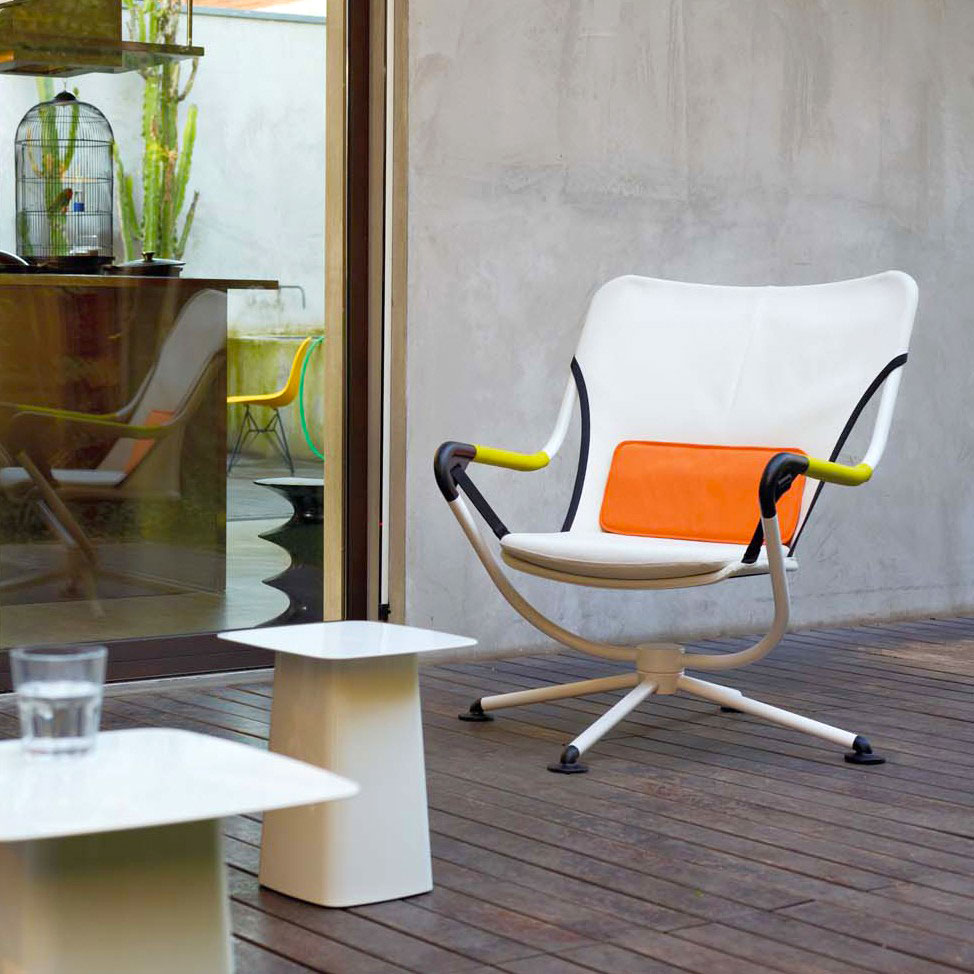 waver armchair by vitra