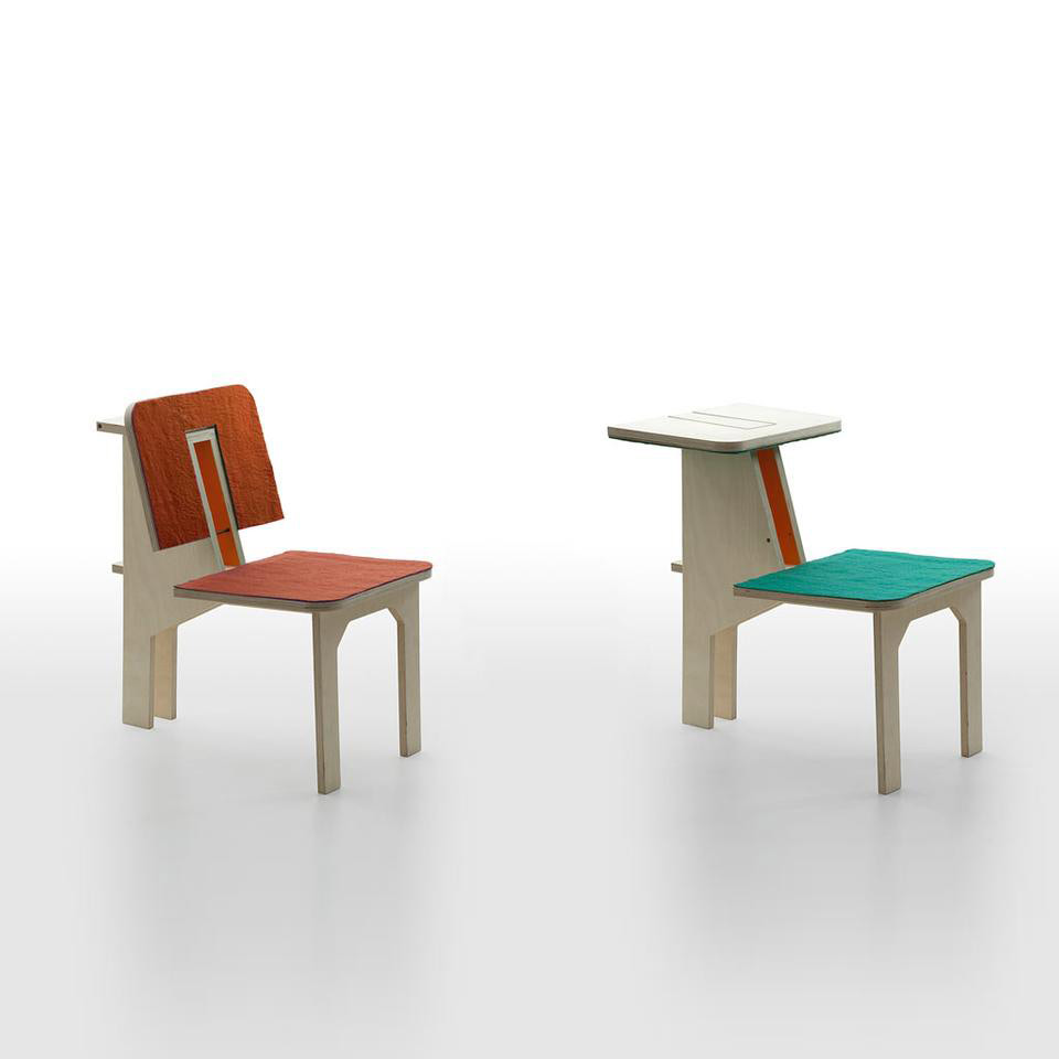 Double Side Chair, Danese, 2011