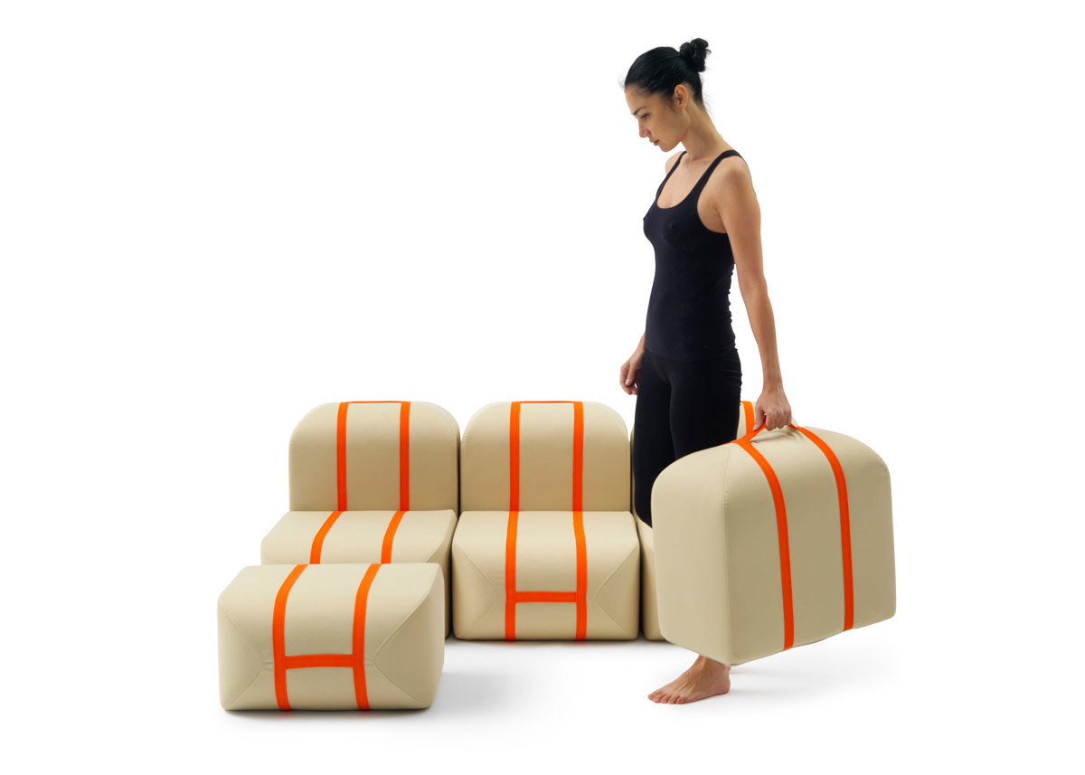 Self Made Seat Sofa, Campeggi, 2015