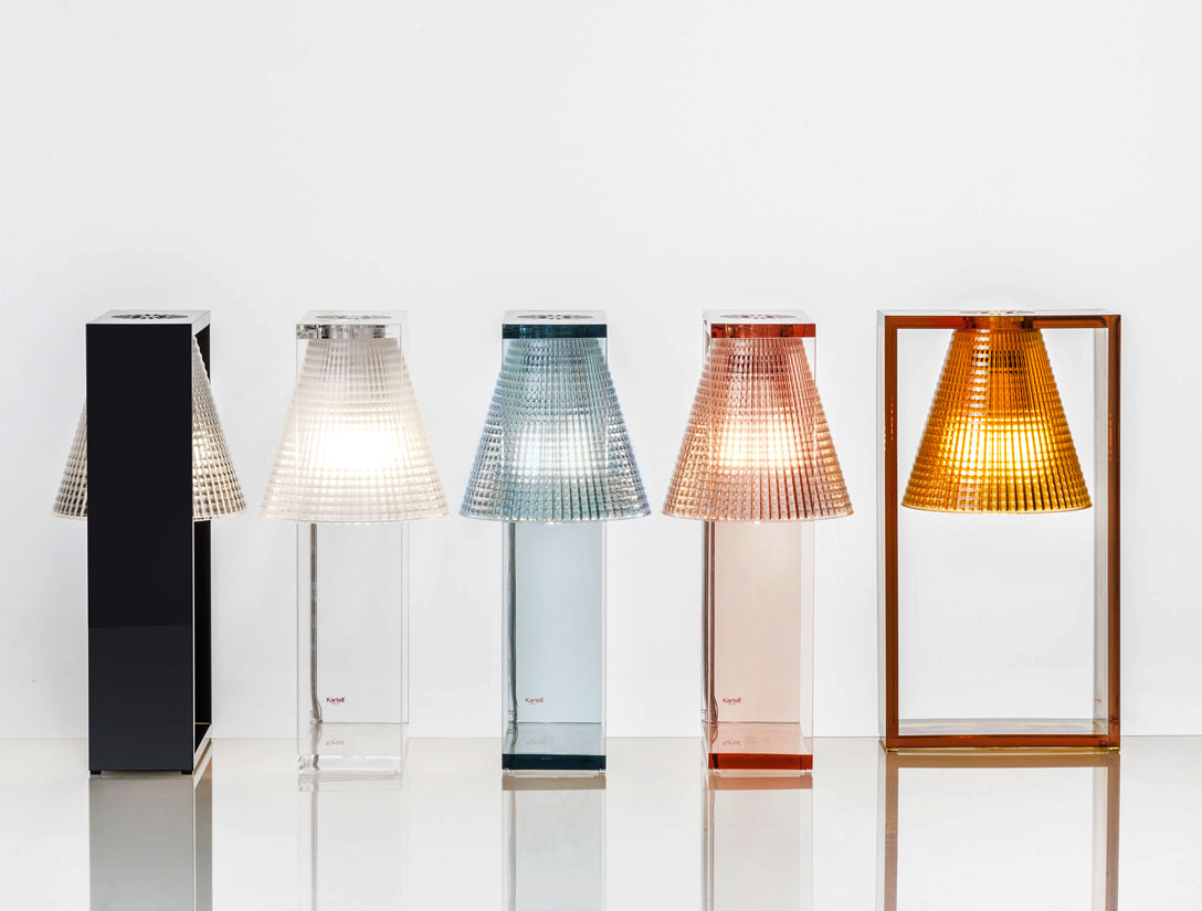 light air lamp by kartell
