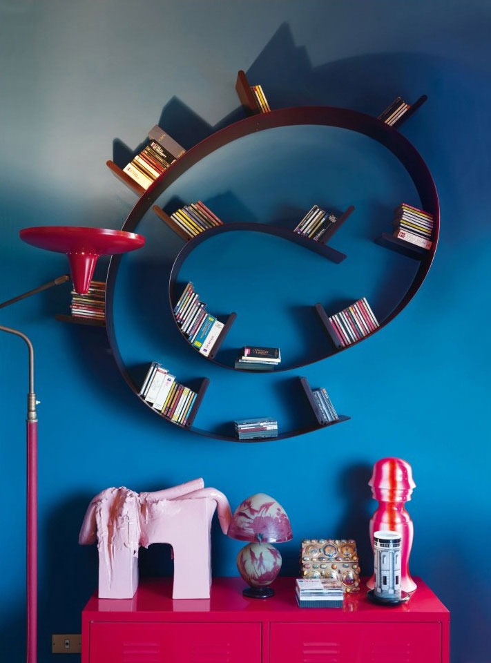 bookworm bookcase by ron arad