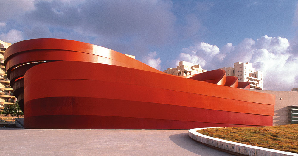 holon design museum by ron arad