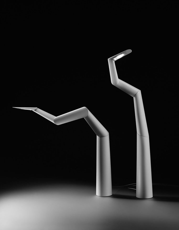 spyre lamp by ron arad
