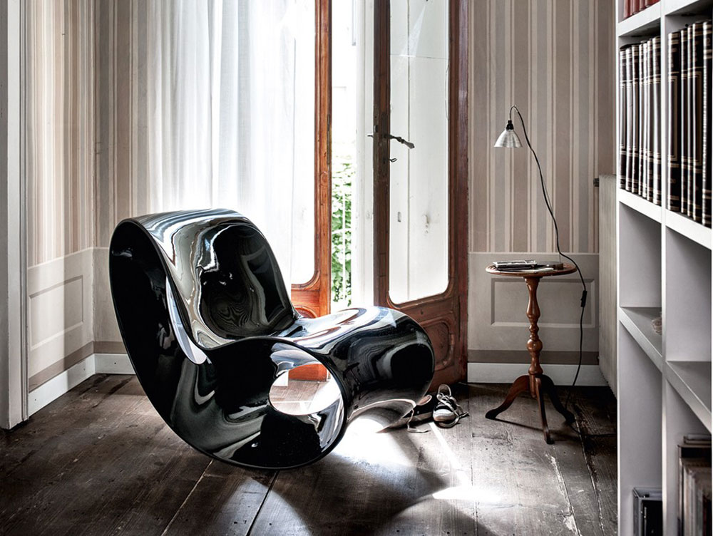 voido armchair by ron arad