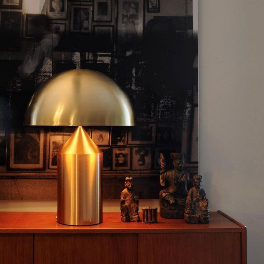 atollo lamp by oluce