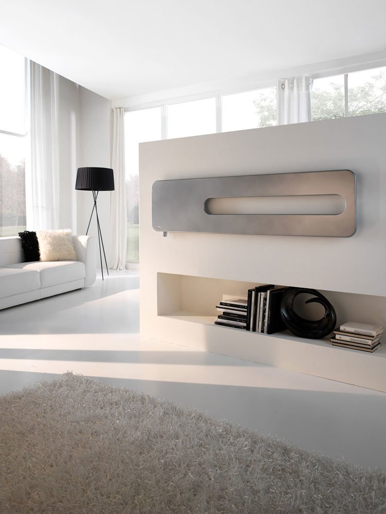 Radiator Badge Control, collection Extraslim, design Simone Micheli 2019, Cordivari