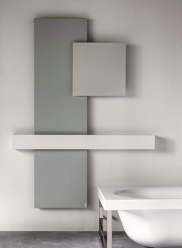Radiator Square Composition, collection Elements, design Ludovica+Roberto Palomba, Tubes